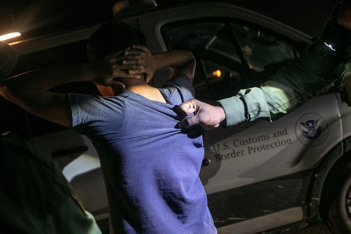 Las detenciones en la frontera han aumentado en los últimos cuatro meses.