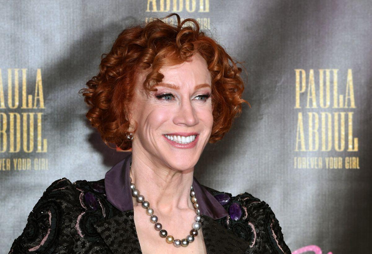 Kathy Griffintiene cáncer de pulmón en estado 1.