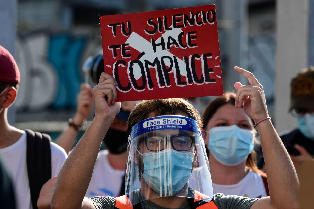 Una manifestación en Panamá contra el abuso sexual de menores.