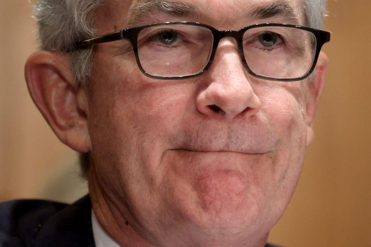 El presidente de la Reserva Federal (Fed), Jerome Powell, en una audiencia ante un comité senatorial en julio pasado.