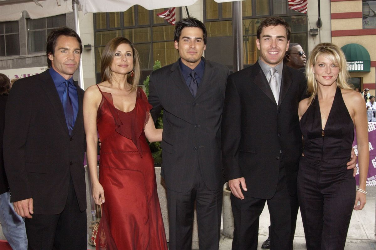 Jay Pickett, Marie Wilson, Eddie Matos, Nolan North y su esposa Jill Murray.