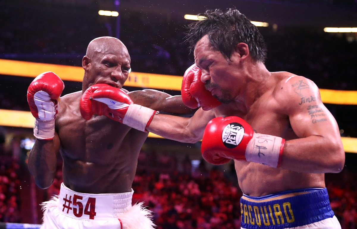 Pac-Man perdió ante Ugás por decisión unánime.