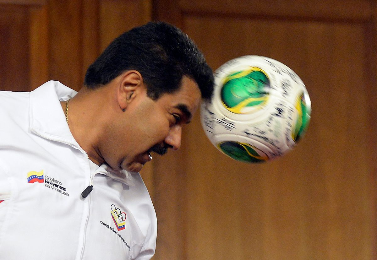 El mandatario venezolano se ha declarado fanático del FC Barcelona en numerosas oportunidades.
