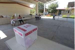 Pocos mexicanos acuden a votar a consulta para enjuiciar a expresidentes y otros funcionarios
