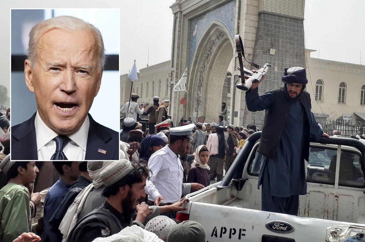 El presidente Biden reconoce el avance de los talibanes y toma acciones para aumentar monitoreo de Inteligencia.