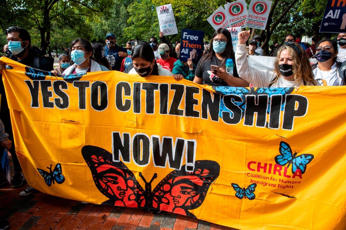 Miles de activistas marcharon la semana pasada al Congreso para presionar por una reforma migratoria.