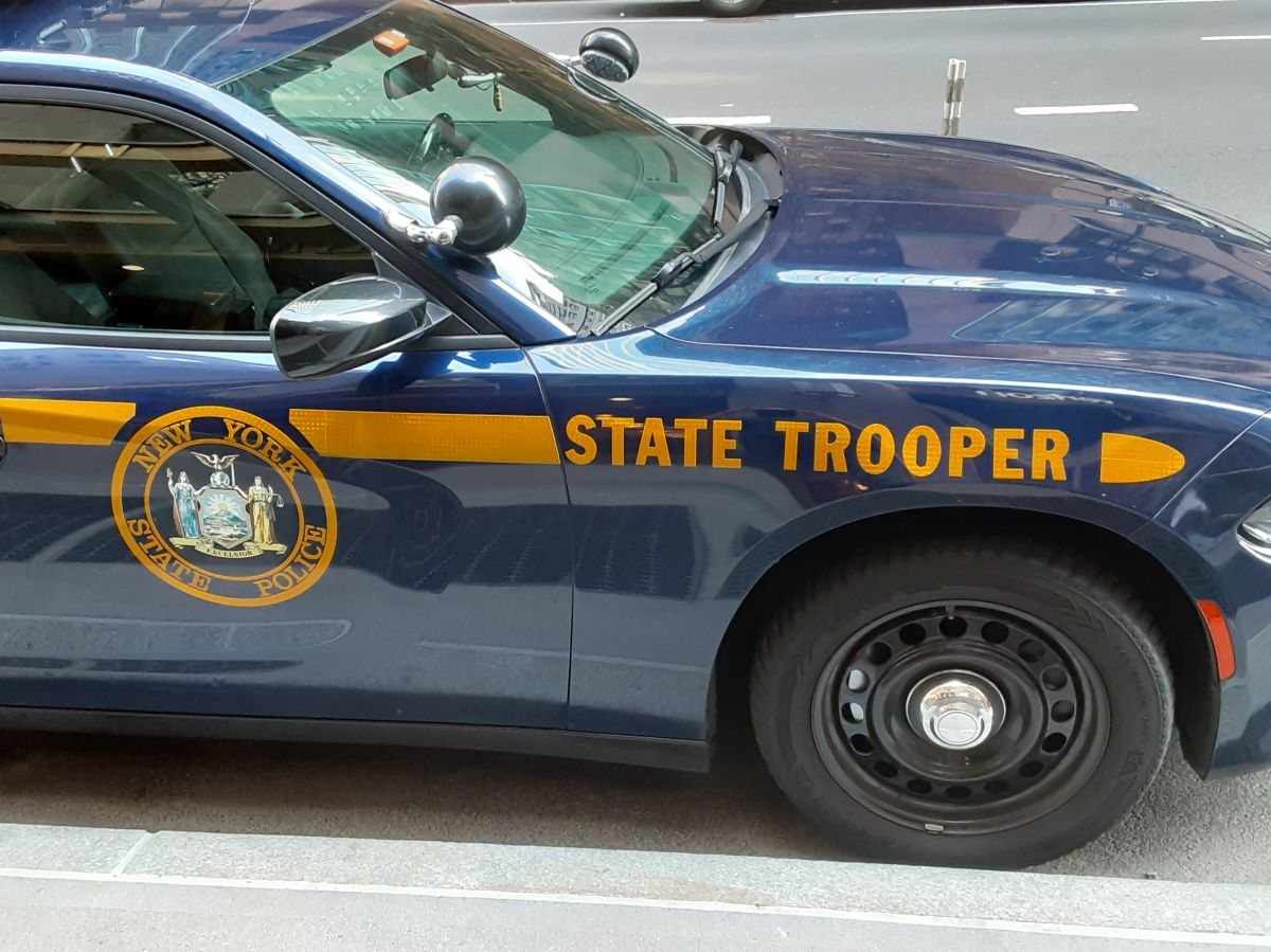 Patrulla de la Policía Estatal de Nueva York (NYSP).