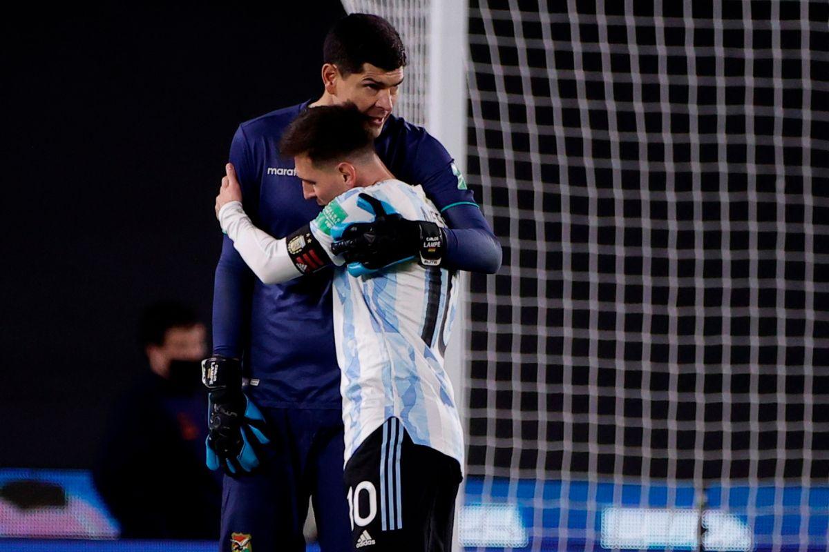Messi alcanzó los 79 goles en 153 partidos.