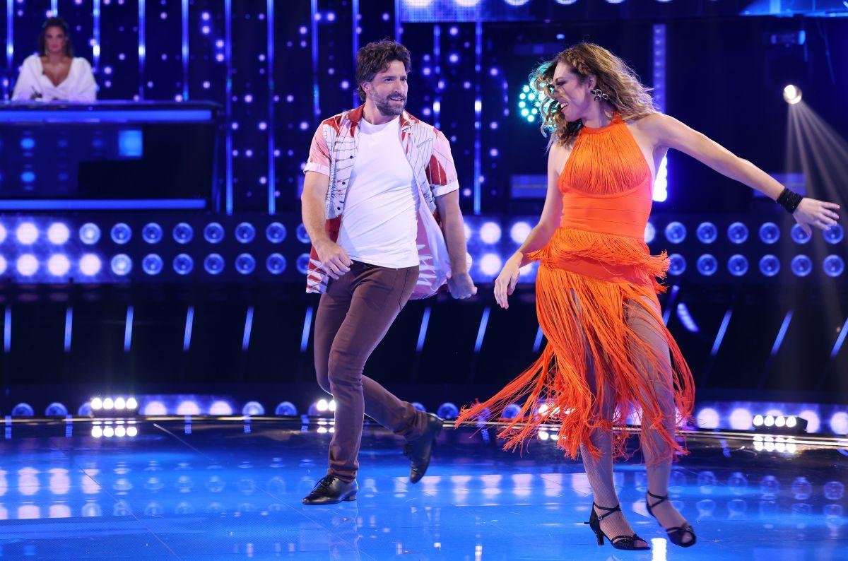 David Chocarro y Carolina Laursen en 'Así Se Baila'.