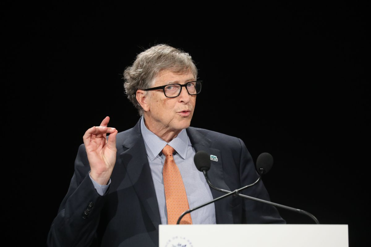 Para Bill Gates la manera más efectiva de acabar con la pandemia es la producción masiva de vacunas.