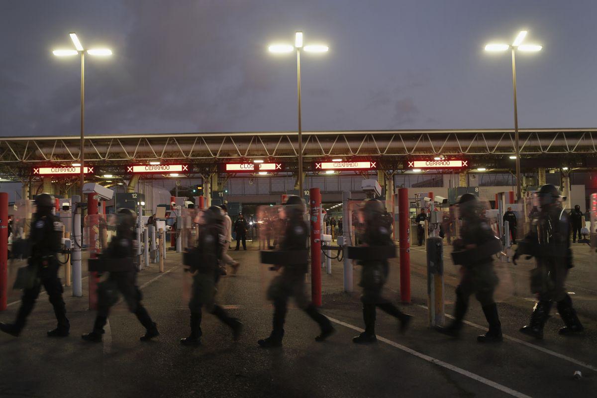 Los 14 militares mexicanos fueron puesto a la orden de las autoridades.