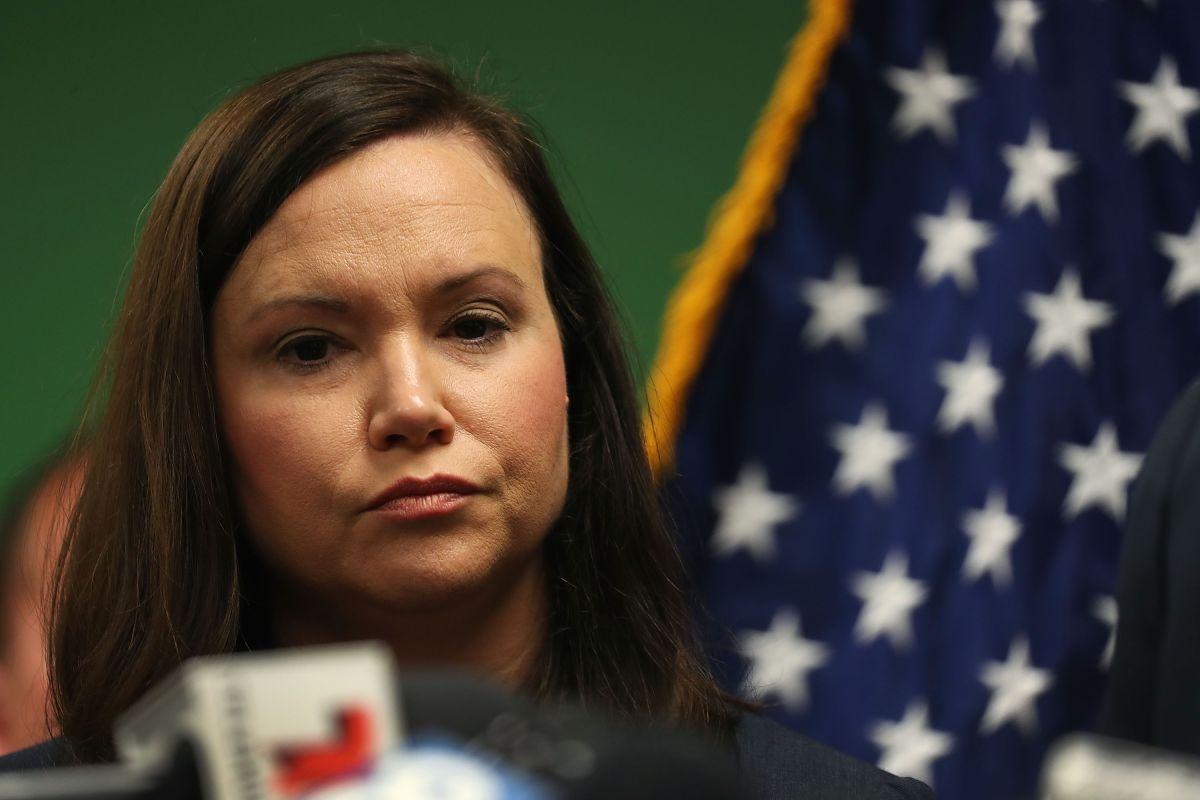 La fiscal general de Florida, Ashley Moody.