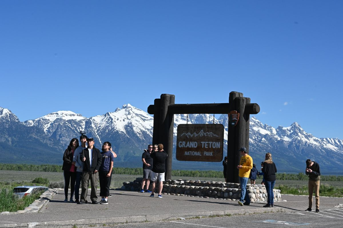 La última vez que Gabrielle Petito se comunicó con su madre se encontraba en Grand Teton National Park, Wyoming.