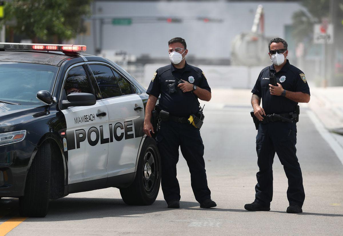 Agentes federales y estatales unieron fuerzas para que se diera el reencuentro.