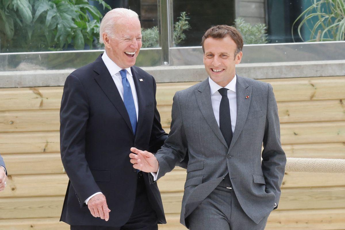 UE espera retomar confianza con EE.UU. tras llamada entre Biden y Macron