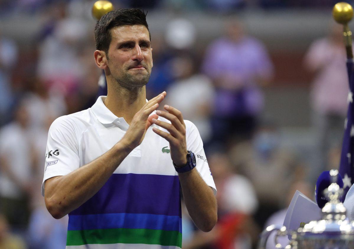 Novak Djokovic perdió la final del US Open el pasado fin de semana.