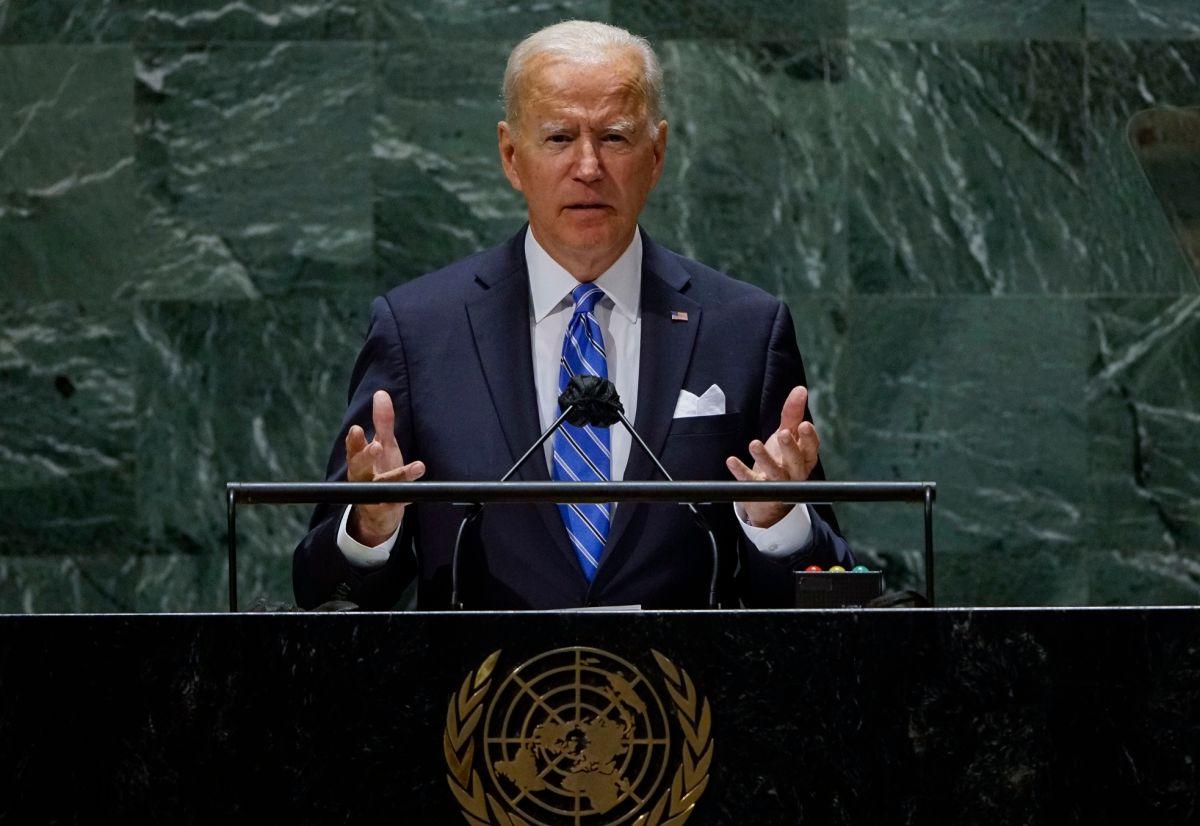 El presidente Joe Biden dio su primer discurso ante la ONU.