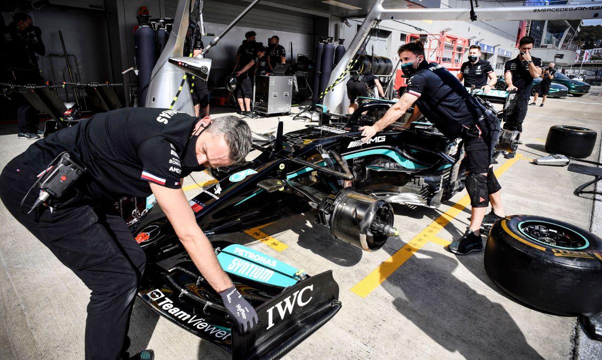 El incidente se generó durante las segundas prácticas libres del circuito de Sochi de la Fórmula Uno.