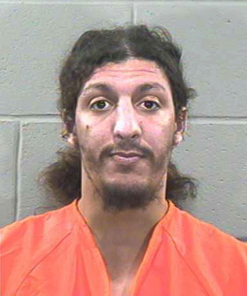 """Richard Reid o el """"terrorista del zapato"""" cumple cadena perpetua por intentar explotar un avión de American Airlines el 22 de diciembre de 2001."""