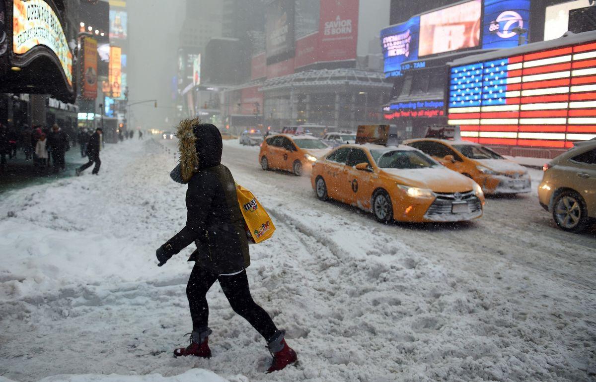 La ciudad de Nueva York tendrá nevadas y ventiscas este invierno.