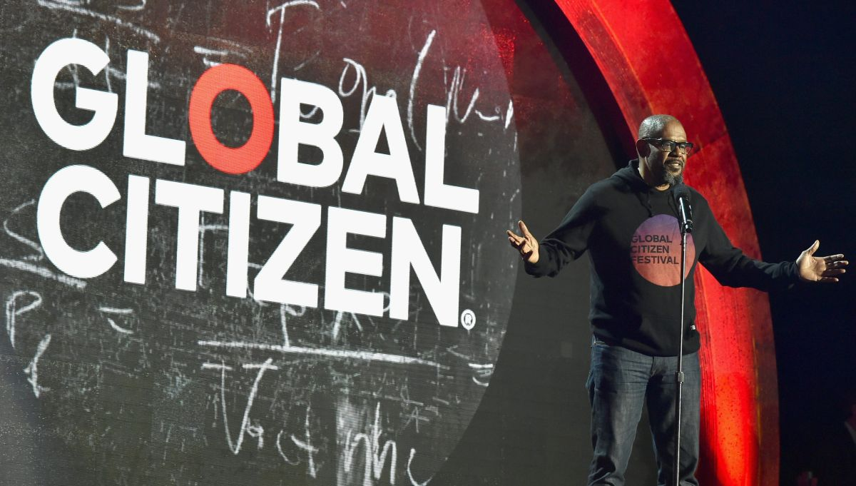 Actor Forest Whitakerat the 2016 Global Citizen Festival In Central Park.