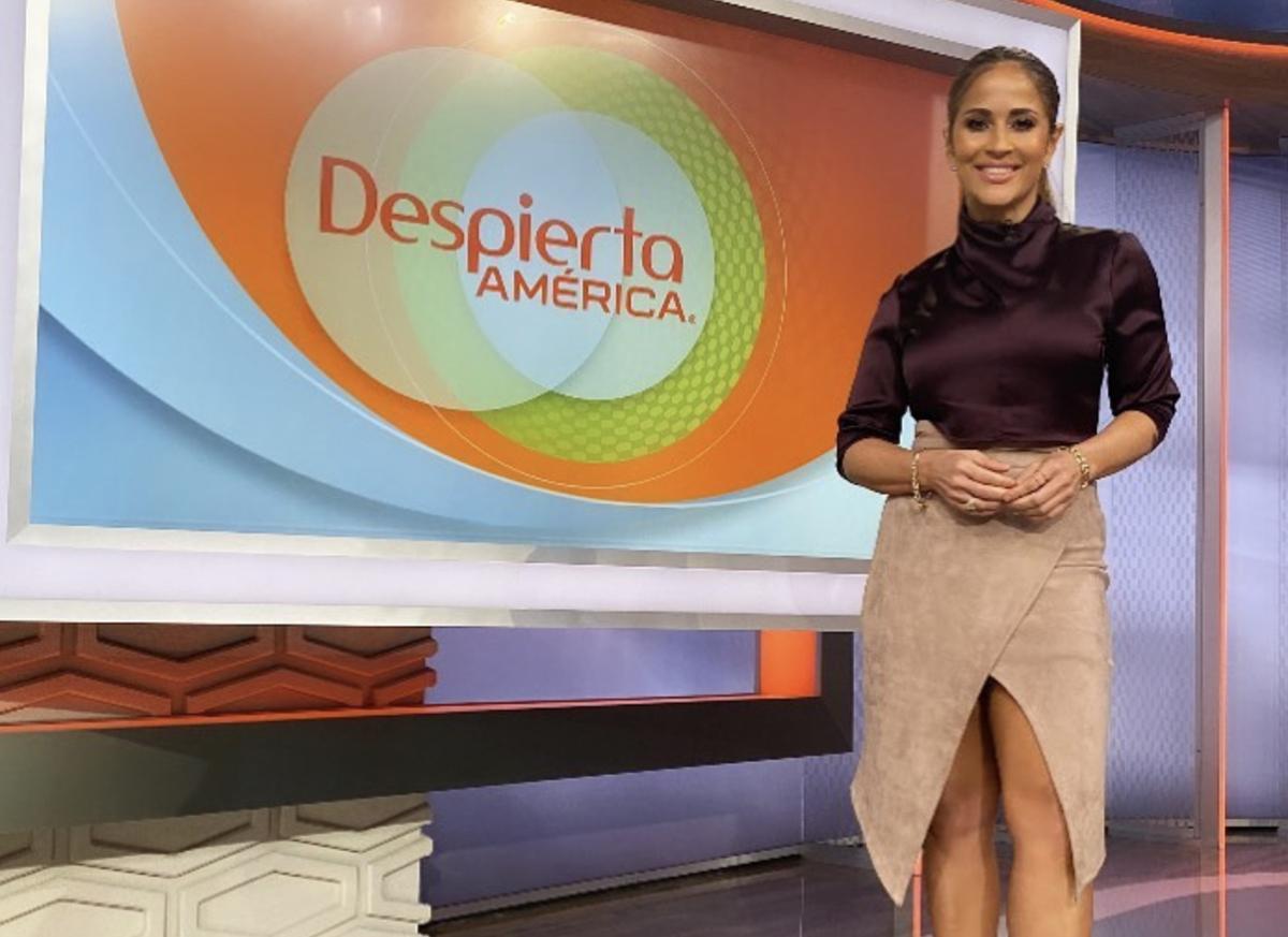 Jackie Guerrido nueva presentadora de 'Despierta América en Domingo'.