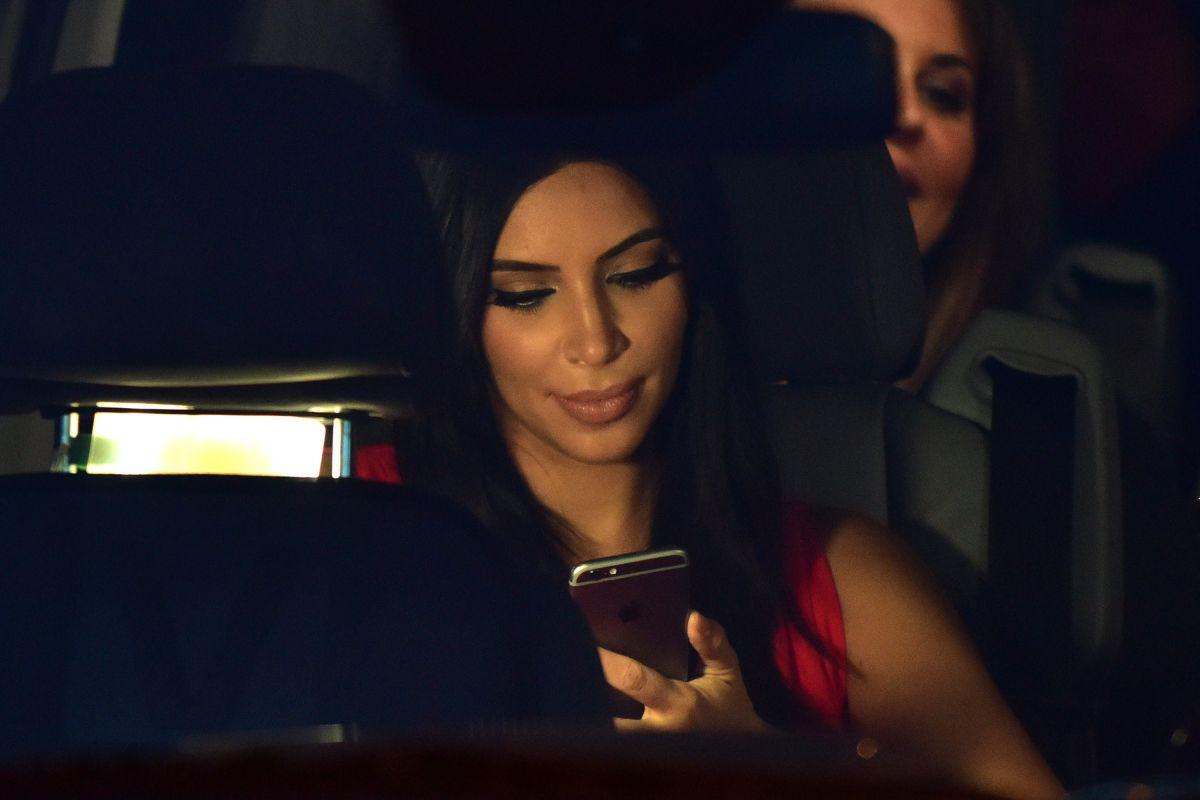 KIm Kardashian ya sabe todo lo que están diciendo de ella.