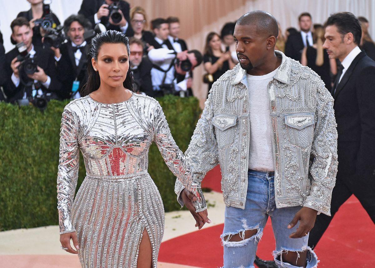 Kanye West ya no sigue en Instagram a su ex Kim Kardashian y puso su cuenta  privada pero se arrepintió después.