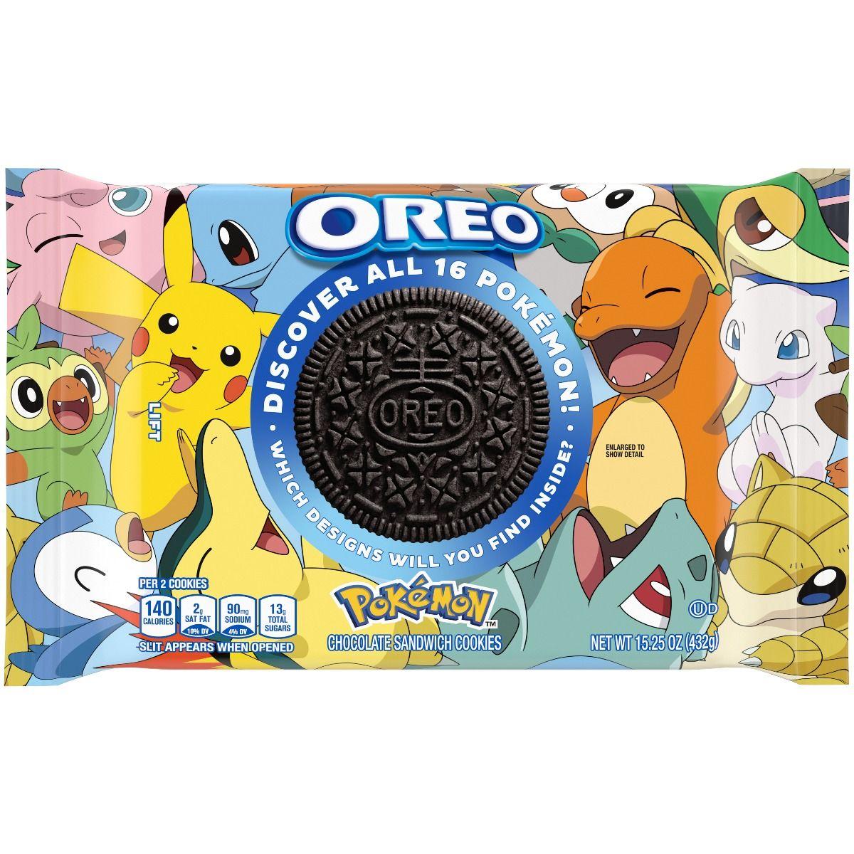 Una nueva colección para los fanáticos de Pokémon, esta vez en galletas Oreo.