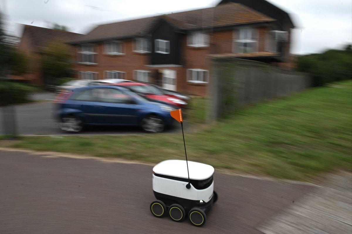 Los pequeños robots ganaron gran popularidad por su servicio en medio de la pandemia de coronavirus.