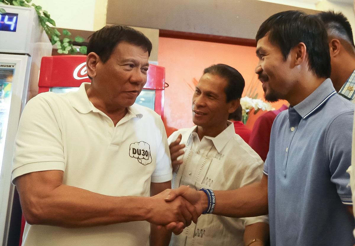 Pac-Man y Duterte fueron aliados en el partido, pero ahora la relación tomó otro giro.
