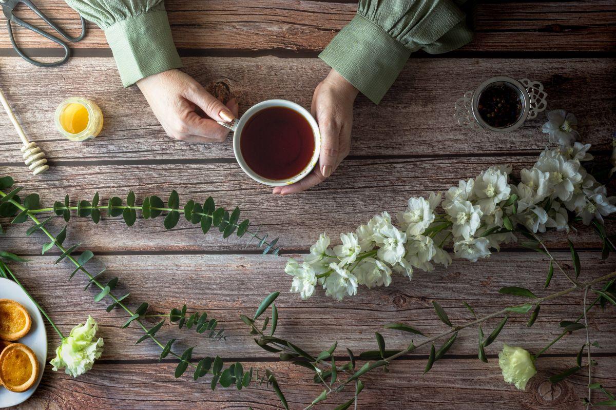 Reemplazar el consumo de bebidas azucaradas por tés herbales, beneficia el control de la glucosa en sangre.