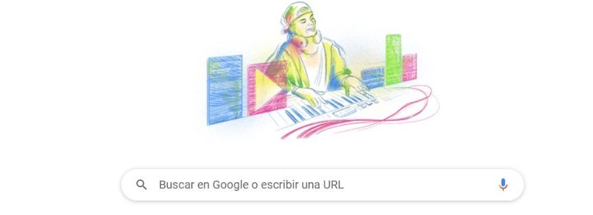 Así el homenaje que Google le rinde a Avicii. / Google.