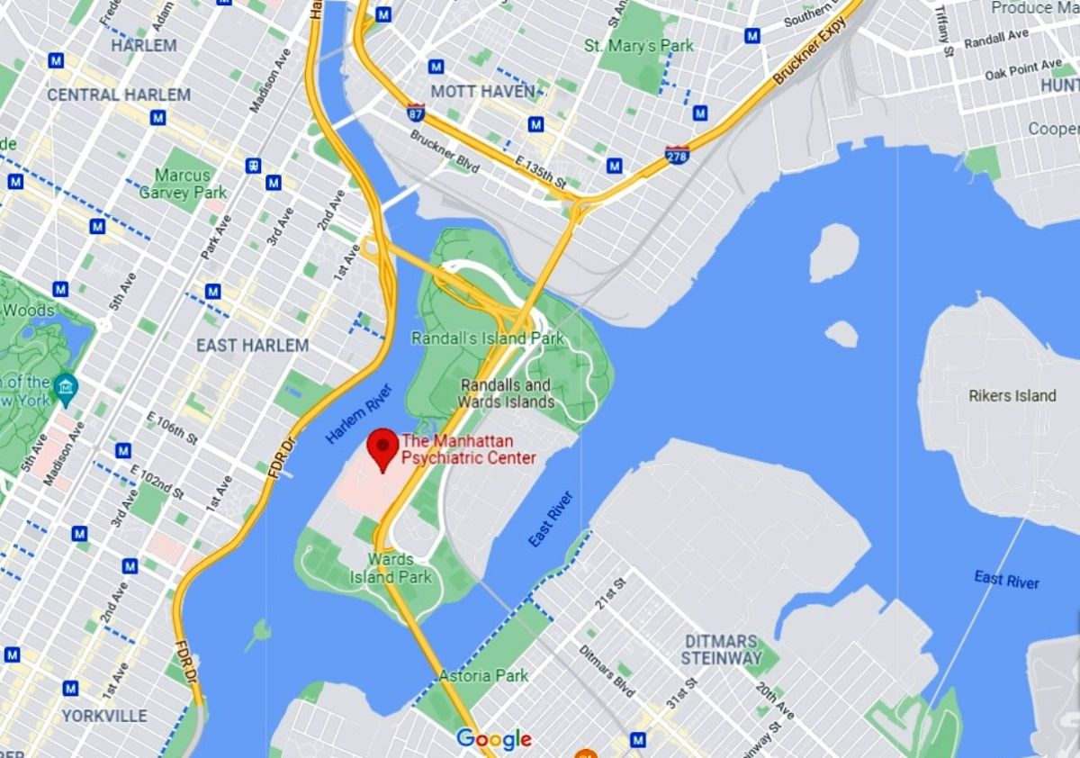 Manhattan Psychiatric Center, Randalls and Wards Islands. NYC.
