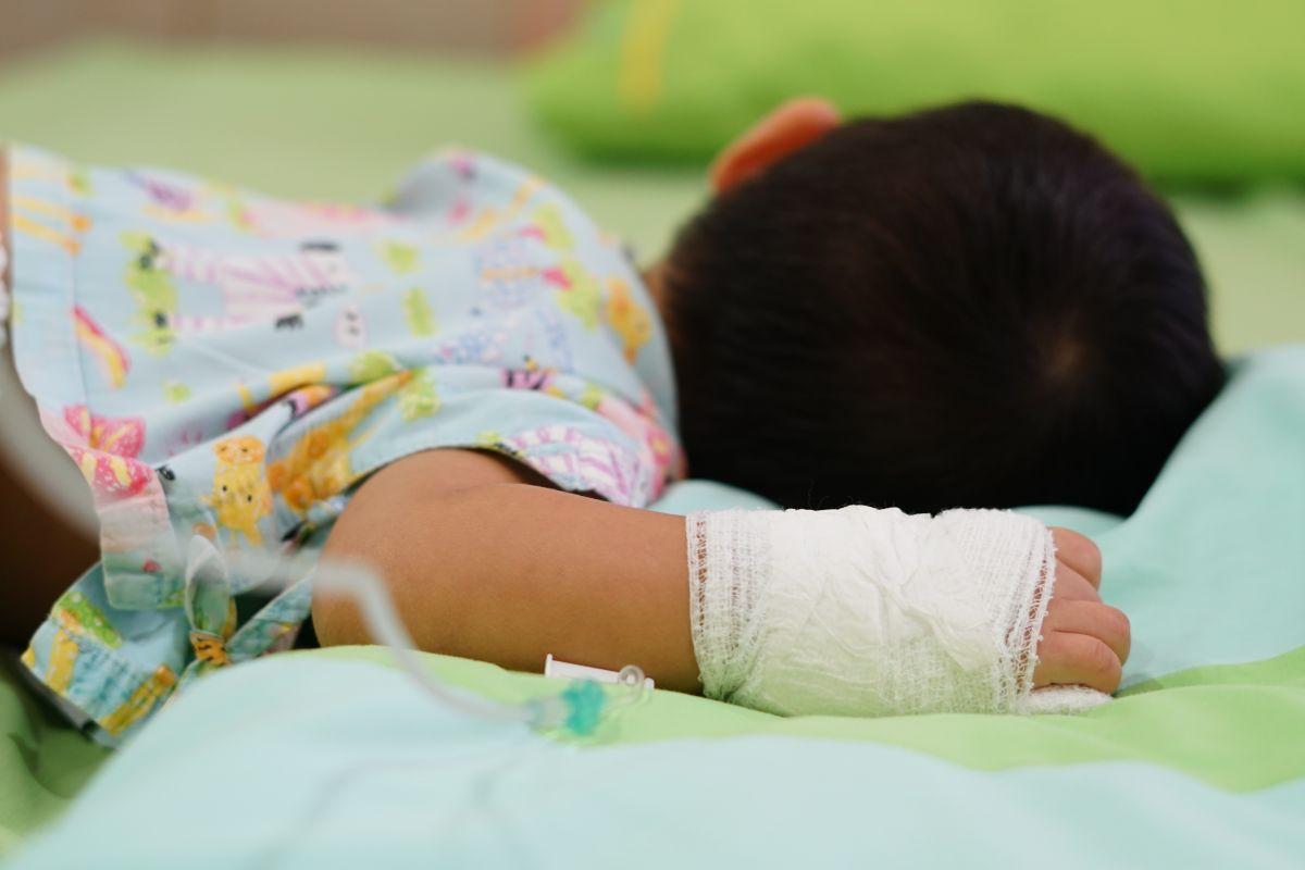 El menor llegó al hospital en San Juan, Puerto Rico, con muerte cerebral.