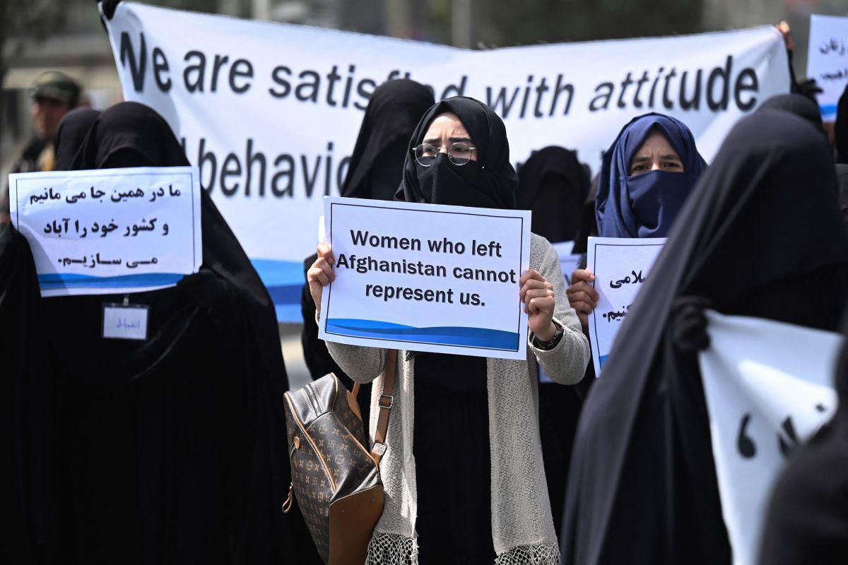 La campaña en redes sociales fue iniciada por la académica Bahar Jalali.