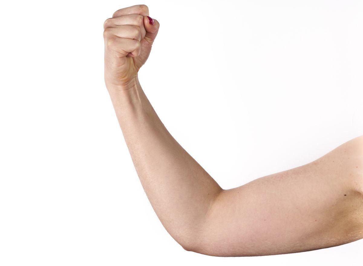 Hay que fortalecer la masa muscular.