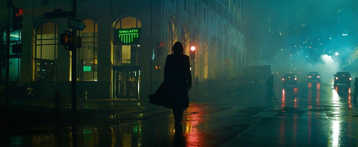 Keanu Reeves de nuevo como Neo en The Matrix Resurrections.