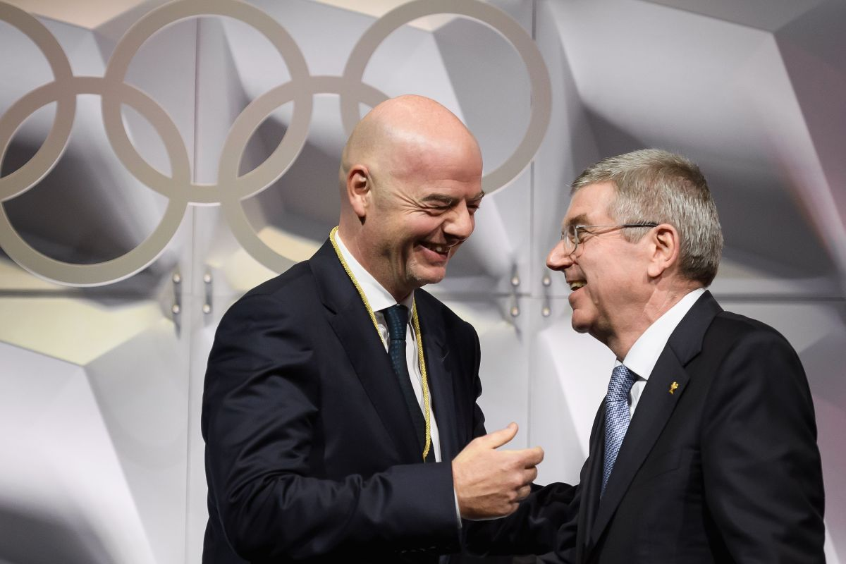 IOC expresses concern about the possibility of a soccer World Cup every two years