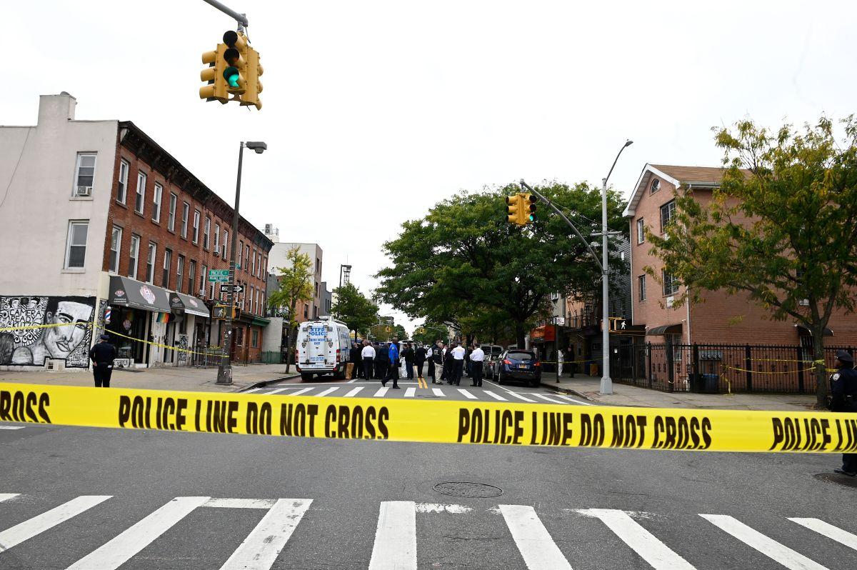 Escena de crimen NYPD.