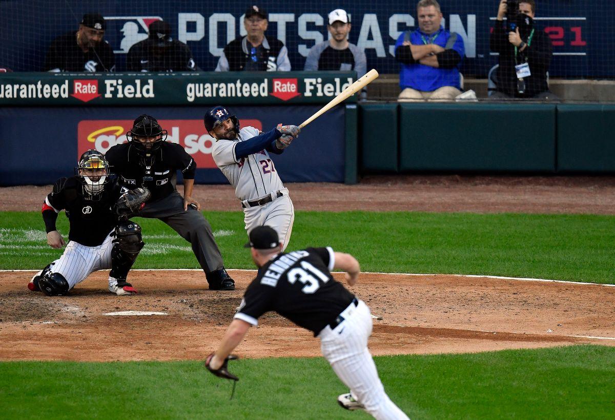 Altuve no se cansó de castigar a los lanzadores de los White Sox.