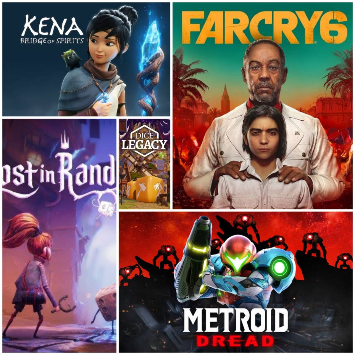 Review: Metroid Dread, Far Cry 6, Kena: Bridge of Spirits, Lost in Random and Dice Legacy