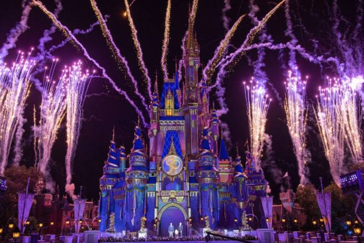 Disney World in Florida kicks off the parks' 50th anniversary celebration with the Latin spark