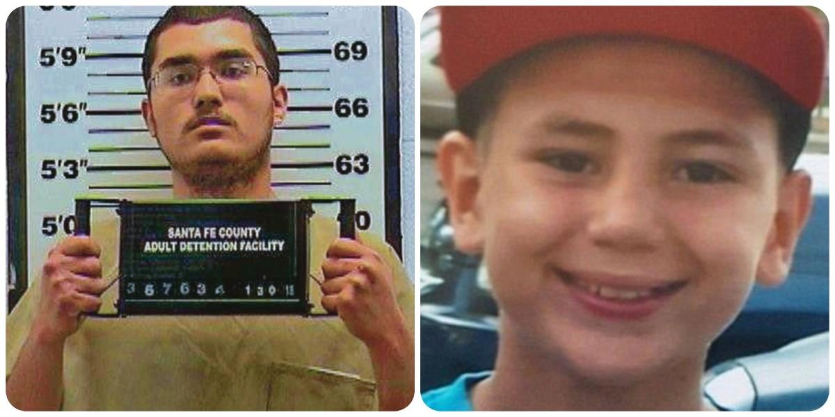 Jeremiah Valencia murió a sus 13 años como resultado del patrón de abuso al que fue sometido por su padrastro y su hermano (izquierda).